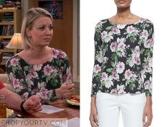 Big Bang Theory: Season 9 Episode 11 Penny's Floral Print Long Sleeve Top