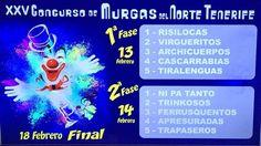 Grupo Mascarada Carnaval: Sorteo del orden del XXV Concurso de Murgas del No...