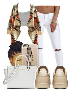 ""","" by ray-royals ❤ liked on Polyvore featuring Topshop, Poetic Justice, Casetify, Michael Kors, women's clothing, women's fashion, women, female, woman and misses"