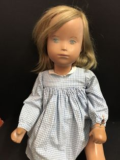 Very rare Sasha Morgenthaler Studio blonde Girl. Clothes: all original Sasha clothes with label, original Sasha Leather shoes. Model:Studio doll, 52 cm, blonde Girl. The dish is in excellent condition. | eBay!