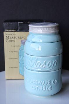 Mason Jar Measuring Cups Giveaway - Munchkin Munchies