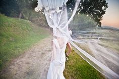 Jessica , il velo e un pò di vento...