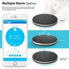 Under-pillow alarm clock  36 Insanely Awesome And Inexpensive Things You Need For Your Bedroom