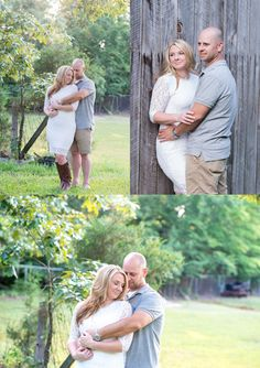 Farm Engagement Session - What to Wear - White Lace Dress - Collar Shirt - Carla Lutz Photography Wedding Photographer Based in Southern Maryland, Serving Maryland, Virginia and DC www.carlalutzphotography.com