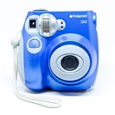 58e5ec7dbebc Polaroid 300 Instant Film Camera Blue PIC-300  polaroid Instax Mini Film