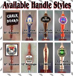 Beer Tap Guy custom beer tap handles, a jumping off point, traditional shapes to either exploit or avoid?