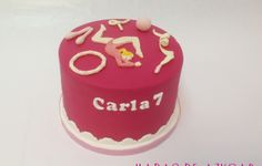 TARTA GIMNASIA RITMICA HADAS DE AZÚCAR GUADALAJARA / RHYTMIC GYMNASTICS BIRTHDAY FONDANT CAKE