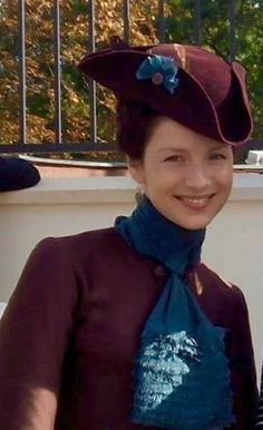 Outlander: Cait in Prague filming Season Two (2015)