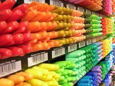 The Sharpie Rainbow!!