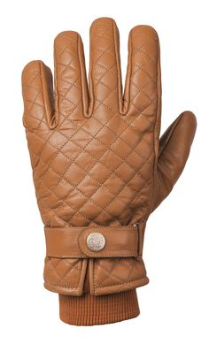 RIDE&SONS Bullit Insulated Leather Glove Camel