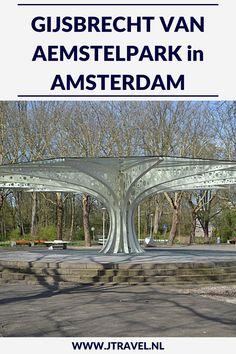 Tijdens mijn wandeling langs de Groene Zuidas in Amsterdam kwam ik o.a. langs en door het Gijsbrecht van Aemstelpark, een langgerekt en smal park in de Amsterdamse wijk Buitenveldert. Wil je meer lezen over het Gijsbrecht van Aemstelpark kijk dan op mijn website. Lees je mee? #gijsbrechtvanaemstelpark #amsterdam #zuidas #jtravel #jtravelblog Amsterdam, Van, Vans