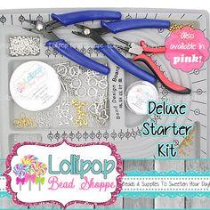 Klobige Kette Starter Kit DELUXE Perlen von LollipopBeadShoppe