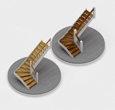 Stairs 3d Visualization, New Homes, Stairs, House, Ladders, New Home Essentials, Stairway, Staircases, Stairways