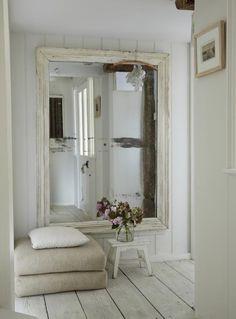 Beautiful giant, antique mirror