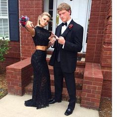 Prom Dress Beautiful, Mermaid High Neck Sleeveless Floor-Length Black Lace Prom Dress, Discover your dream prom dress. Our collection features affordable prom dresses, chiffon prom gowns, sexy formal gowns and more. Find your 2020 prom dress Prom Dresses Two Piece, Prom Dresses 2016, Black Prom Dresses, Prom Party Dresses, Dress Black, Dress Party, Occasion Dresses, Dresses Dresses, Dress Long