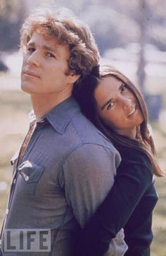 Love Story (with Ryan O'Neil & Ali Mac Graw)... what a movie, I still cry every time I watch it