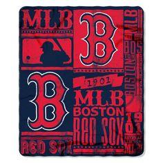 Boston Red Sox 50x60 Fleece Blanket - Strength Design (backorder)