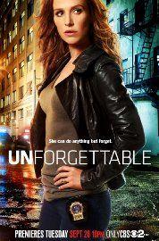 Unforgettable|今一つ。完全記憶キャラで赤毛&直情的は悪くない。