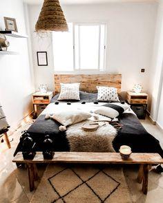 Mein Boho Schlafzimmer Gestyled Mit Dari Design Produkten. #marokkanisches  #geschirr Und #lederhocker Findet Ihr Bei Uns Im Online Shop Unter ...