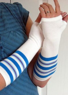 Craft with Confidence: Socks to Arm Warmers