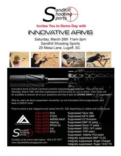 Manufacture of cutting edge silencers and accessories.