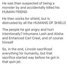 Ouch. The sacrifices of Lincoln Campbell part 2/2. Agents of Shield