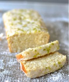 Lime & Coconut Cake | vegan foody