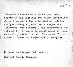 Frase De El Libro El Amor En Los Tiempos Del Colera De Garcia