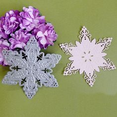 Pentagram Flower Cutting Dies Stencil DIY Scrapbooking Album Cards Paper Decor…