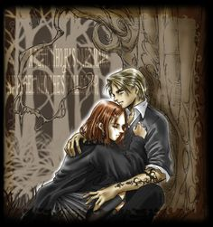 draco and ginny. clearly didn't happen, I just like this drawing