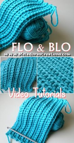 FLO and BLO – Crochet Tutorials - Meladora's Creations Share this: This crochet technique makes doing more texture in crochet possible but just learning the basic term of flo and blo is very useful when reading crochet patterns. Crochet Instructions, Crochet Tutorials, Crochet Basics, Crochet For Beginners, Crochet Projects, Crochet Scarves, Crochet Hooks, Free Crochet, Knit Crochet