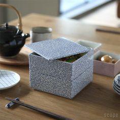 tiered food boxes TIME & STYLE 重箱二段蓋付