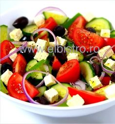 Greek Salad - El Bistro homemade.
