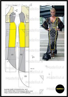 ModelistA: A3 NUMo 0394 DRESS