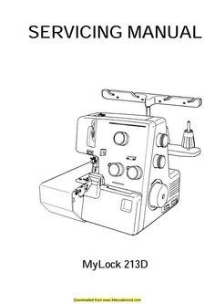 Simplicity Easy Lock Serger SL370 and SL390. Examples of