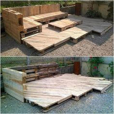 wood pallet terrace ideas 45
