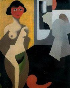 The model - Rene Magritte Rene Magritte ( 1898 - 1967 ) More At FOSTERGINGER @ Pinterest