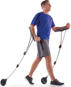 When you need a break from playing your favourite mmorpg game go for a walk with those Wheeled Nordic Walking Poles :)