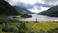 Glenfinnan Monument Scotland highlands