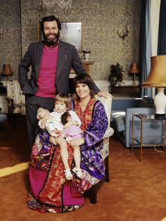 Robert Wagner, Natalie Wood et leur fille, Natasha Gregson
