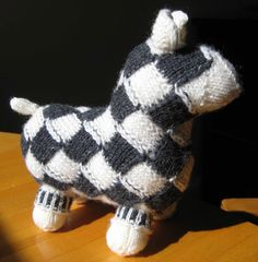 ChemKnits: Entrelac Sheep