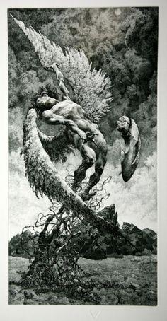 Julian Jordanov. Icarus. 1994.