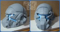 https://www.facebook.com/PepakuraHeroes?fref=photo Pilot Helmet from Pepakura Heroes
