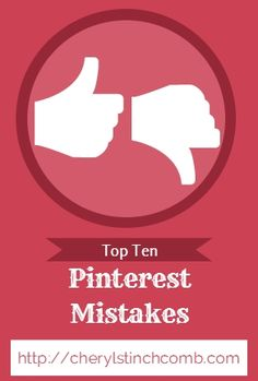Avoid these Biggest Pinterest Mistakes you can make for your business!