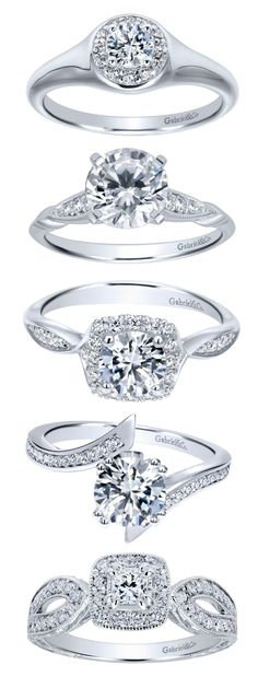 Discover a beautiful engagement ring collection with over 1000 styles from Gabriel & Co. Browse our online website and find us at your local jeweler. You can also check out our Instagram and Facebook to see our favorites from all of our collections!