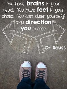 I love these Dr. Seuss quotes from Fun in First.