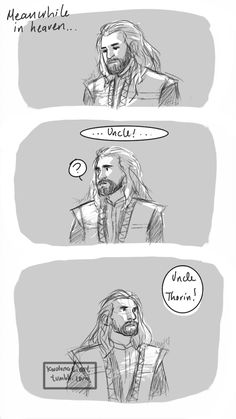 click through to see the rest. This makes my heart hurt. The Hobbit fanart