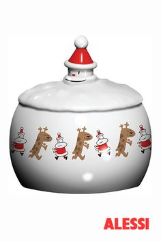 Let it snow - biscuit box, LPWK & Massimo Giacon, 2010 #alessi #design #alessichristmas #christmas