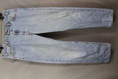 Levi's Strauss & Co Denim 36x30 Regular Fit Straight Leg 505 Size 36 x 30 #Levis #505