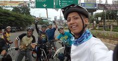 Curug Bulao with Foldingbike